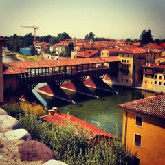 Photo taken at Ponte degli Alpini by Frans  H. on 8/21/2012