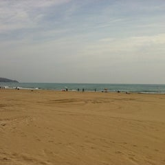 Photo taken at Playa Torre Sant Vicent by Bribble L. on 6/7/2012