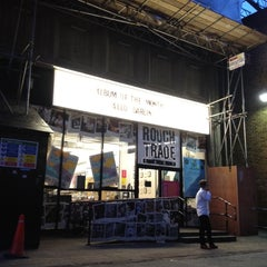 Photo taken at Rough Trade East by Rosa S. on 5/11/2012