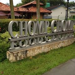 Photo taken at Chomp Chomp Food Centre by Wong K. on 5/6/2012