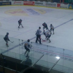 Photo taken at Swiss Arena by Roman W. on 2/18/2012