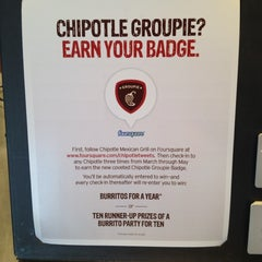 Photo taken at Chipotle Mexican Grill by Pat M. on 3/3/2012