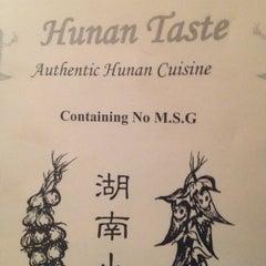 Photo taken at Hunan Taste by Manuel L. on 3/1/2012