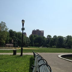 Photo taken at Morningside Park by Orhun A. on 5/29/2012
