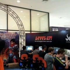 Photo taken at Gameworld 2012 by Juliana Maria L. on 4/1/2012