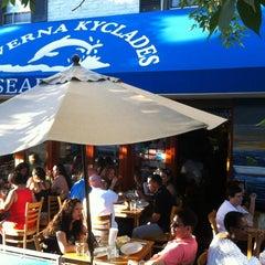 Photo taken at Taverna Kyclades by Billy Kuan-yin C. on 6/23/2012
