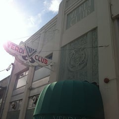 Photo taken at Verdi Club by Ricardo F. on 5/27/2012