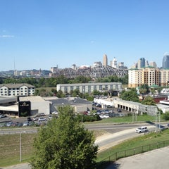 Photo taken at Radisson Hotel Cincinnati Riverfront by Joshua P. on 8/7/2012