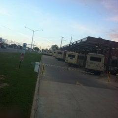 Photo taken at Greyhound Bus Station (Fredericksburg VA) by mehdi e. on 4/11/2012
