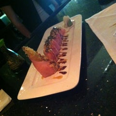 Photo taken at Wasabi Japanese Steakhouse by Stef W. on 5/12/2012