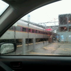 Photo taken at MBTA Canton Junction Station by Kristen L. on 6/2/2012