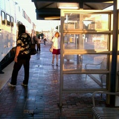 Photo taken at CentrePort / DFW Airport Station (TRE, DART bus, The T) by Mario M. on 5/16/2011