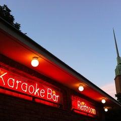Photo taken at Karaoke Bar Restroom by Tom B. on 8/3/2011