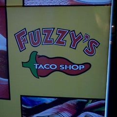 Photo taken at Fuzzy's Taco Shop by Cassaundra M. on 12/29/2011