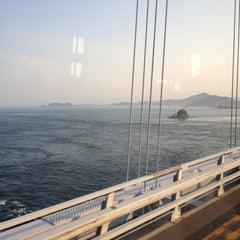 Photo taken at 大鳴門橋 by Shingo on 5/27/2012