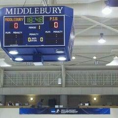 Photo taken at Kenyon Arena by Ben S. on 3/10/2012
