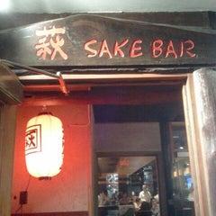 Photo taken at Sake Bar Hagi by Kim M. on 3/14/2012