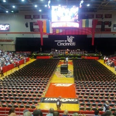 Photo taken at Fifth Third Arena by Haley G. on 6/8/2012