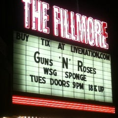 Photo taken at The Fillmore Detroit by Katy J. on 2/23/2012