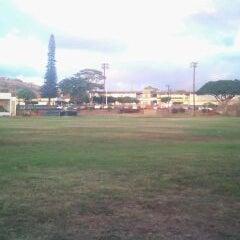 Photo taken at Waimea High School by K B. on 12/18/2011