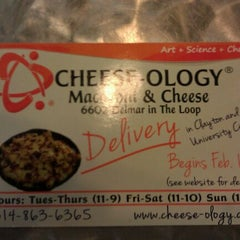 Photo taken at Cheese-ology Macaroni & Cheese by Brian J. on 1/21/2012