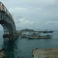 Photo taken at Jembatan Cinta by Imel Y. on 12/2/2011