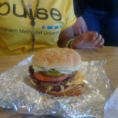Photo taken at Five Guys by Whitney H. on 3/16/2012
