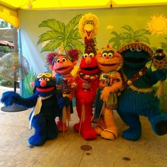 Photo taken at Sesame Street Safari Of Fun by Tiffany V. on 9/9/2012