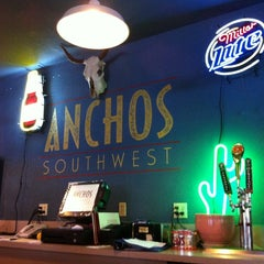 Photo taken at Anchos Southwest Bar & Grill by Ryan H. on 7/9/2012