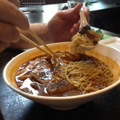 Photo taken at Boom Noodle by Ann P. on 5/5/2012