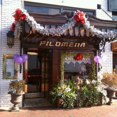 Photo taken at Filomena Ristorante by David B. on 12/30/2011
