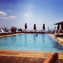 Photo taken at The MET Hotel by Tasos P. on 6/20/2012