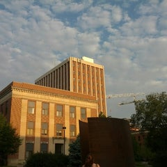 Photo taken at Oldfather Hall by Abdullah A. on 8/29/2012