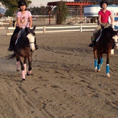 Photo taken at Los Angeles Equestrian Center by Caroline D. on 1/10/2012
