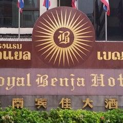 Photo taken at Royal Benja Hotel by Oup J. on 12/22/2011