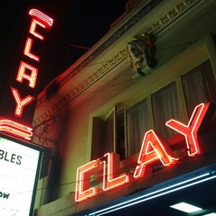 Photo taken at Clay Theatre by jon w. on 8/12/2012