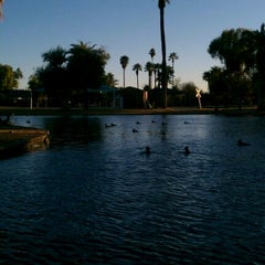 Photo taken at Encanto Park by Fuchapro on 1/1/2012