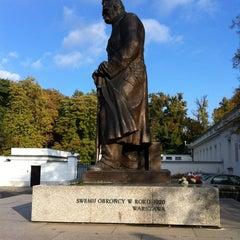 Photo taken at Pomnik Marszałka Piłsudskiego / Piłsudski Monument by Hey on 10/22/2011