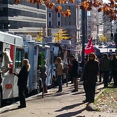 Photo taken at Franklin Square Park by Borinquen Lunch Box on 11/18/2011