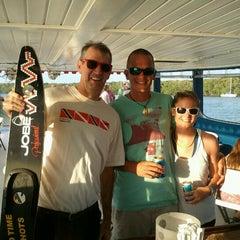 Photo taken at Island Time Cruises Paddlewheel Boat by David H. on 5/31/2012