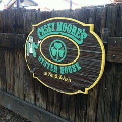 Photo taken at Casey Moore's Oyster House by John H. on 2/26/2012