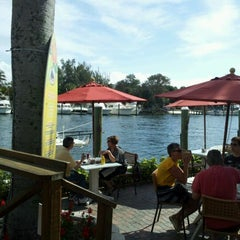 Photo taken at Waterway Cafe by Meg E. on 1/22/2012