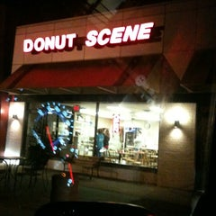 Photo taken at Donut Scene by Gina H. on 1/29/2012