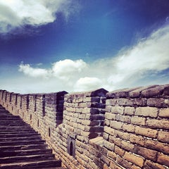 Photo taken at 慕田峪长城 Great Wall at Mutianyu by Tatti O. on 7/23/2012