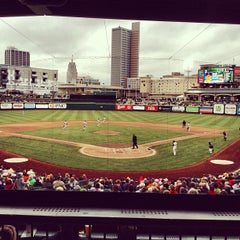 Photo taken at Fort Wayne TinCaps Baseball by Nicole S. on 8/11/2012