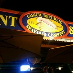 Photo taken at Conch Republic Seafood Company by Mike V. on 11/9/2011