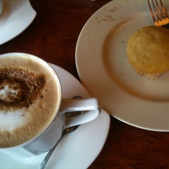 Photo taken at Ghenne's Coffee Shop by Mich O. on 11/14/2011