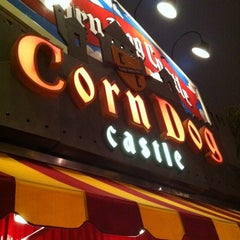 Photo taken at Corn Dog Castle by Dave H. on 2/27/2012
