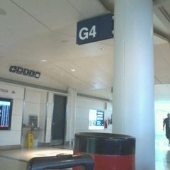 Photo taken at Gate G4 by Melannie H. on 8/2/2012