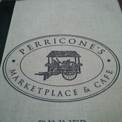 Photo taken at Perricone's Marketplace & Cafe by Mark S. on 6/14/2012
